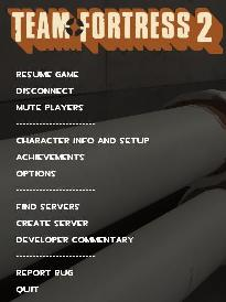 The Old Timers Clan - Clan FAQ: TF2 In Game Server Information
